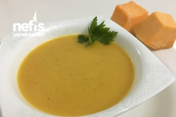 Sütlü Balkabağı Çorbası
