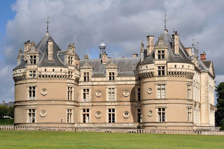Château du Lude Sarthe French castles, Castle ruins