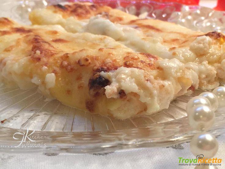 Cannelloni salmone affumicato e mascarpone  #ricette #food #recipes
