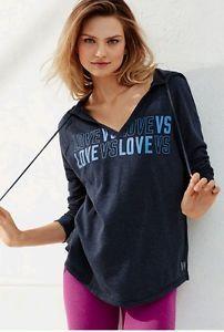 Victoria-039-s-Secret-Hoody-Hoodie-Tunic-oversized-M