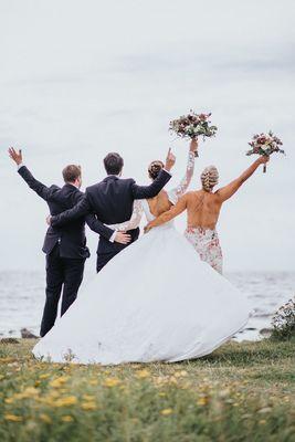 Veronika Ahlin - Fotograf i Skåne och Halland I you need is love  #wedding