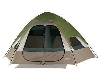 Wenzel Big Bend 12 by 10 Foot Five Person Two Room Family Dome Tent  sc 1 st  Pinterest & 49 best Family Camping Tents images on Pinterest | Family camping ...