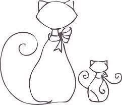 Resultado de imagen para desenhos de gatos para patch aplique