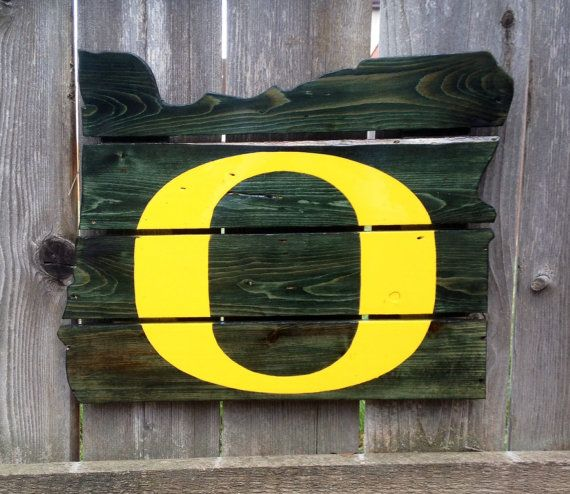 Recycled Pallet Oregon Ducks by IronBarkDesigns on Etsy, $100.00...OMG I want one of these