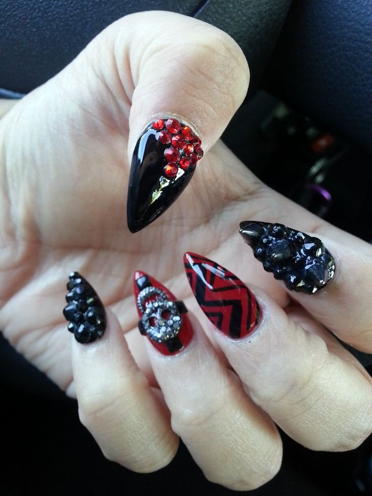 3D Nails - Upland, CA, United States. Beautiful job by Lena
