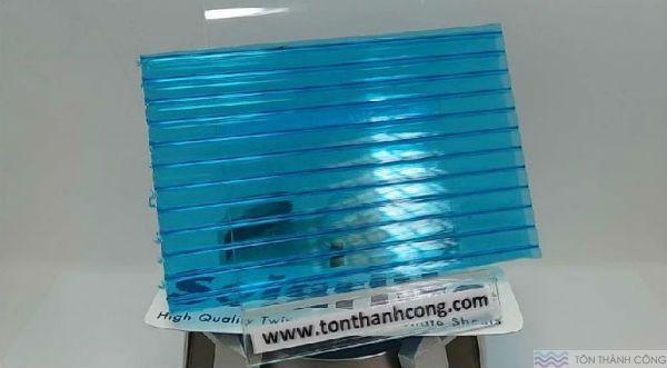 Solarlite Tosca (Xanh Biển) - Tấm Polycarbonate Rỗng Ruột HCM #polycarbonate #solarlite  #tosca