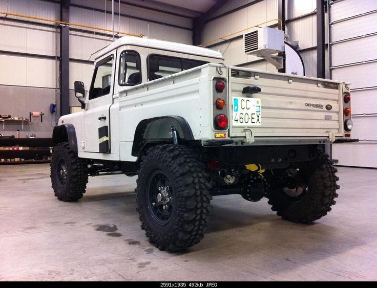 Defender Hi Capacity pickup