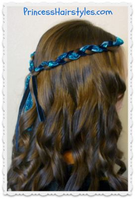 Halloween Hairstyle Tutorial, Evie From Descendants