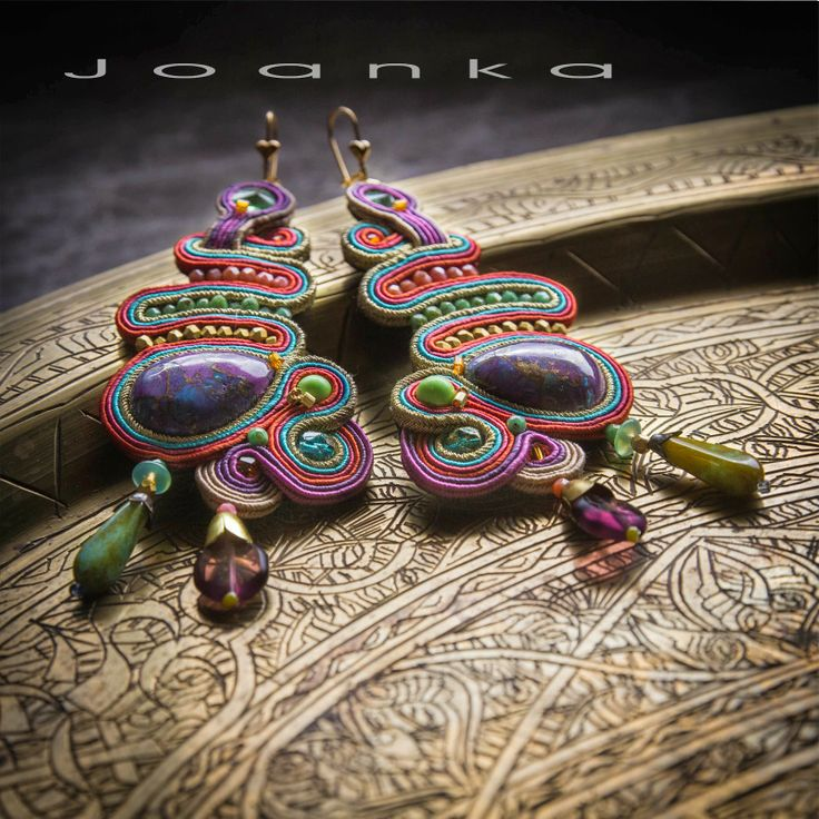 Soutache earrings, Joanka / Kolczyki sutasz