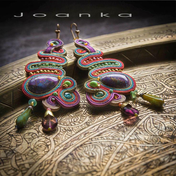 Soutache earrings, Joanka / Kolczyki sutasz
