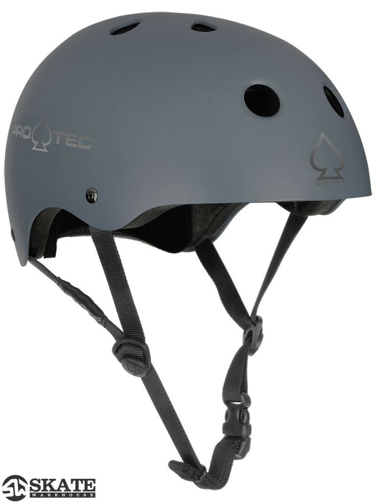 Protec The Classic Skateboard Helmet Matte Gray Get dad some #skatertrainers and a helmet to keep him safe while skating this #fathersday. Forget boring ties. Your dad can be cool again! He can #learntoskateboard. #skatertrainer www.skatertrainer.com #skateboard #giftsfordad #helmet #coolgifts