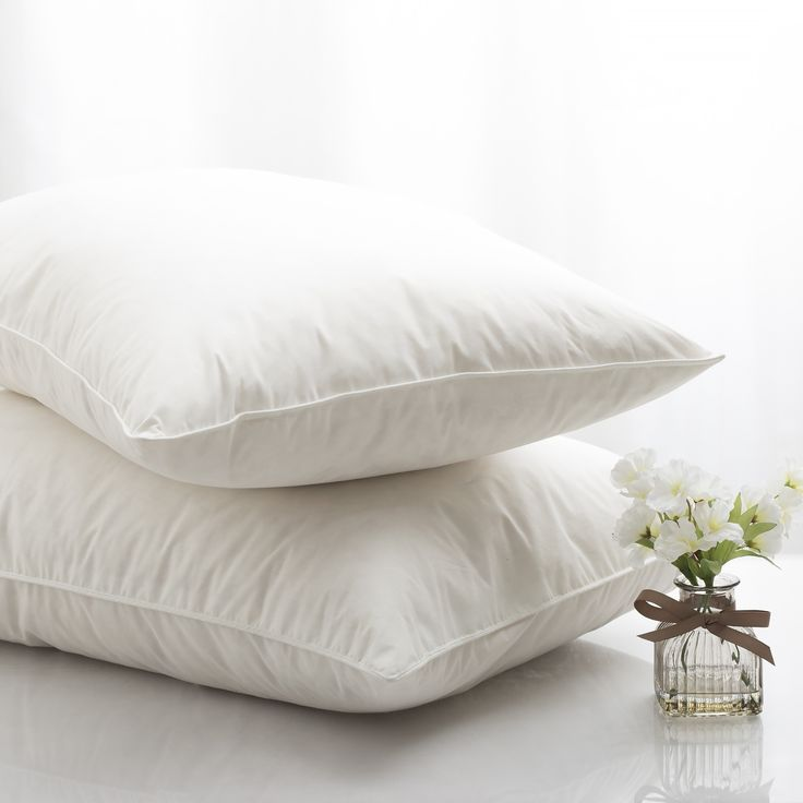 Silentnight Goose Feather Pillow - 2 Pack