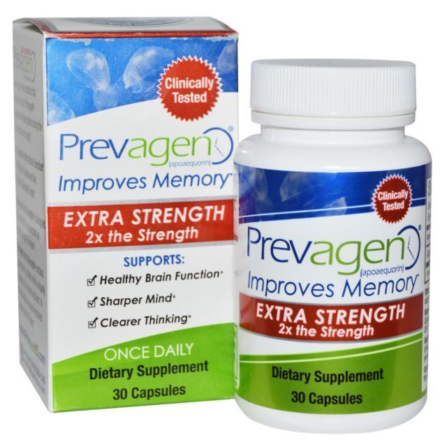 Prevagen Extra Strength Improves Memory 30 Capsules FREE ...