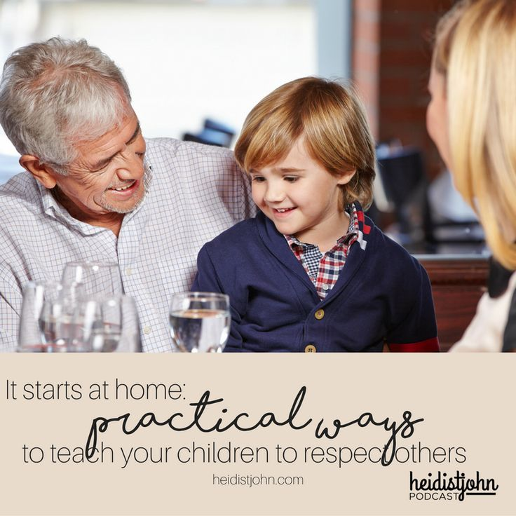 It starts at home: join Heidi St. John and guest Durenda Wilson as they share some practical ways to teach your children the importance of respect.