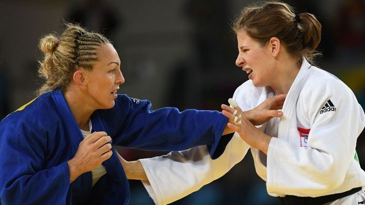 Great Britain's Sally Conway defeated Bernadette Graf to claim -70kg Bronze in 2016 Rio Olympics
