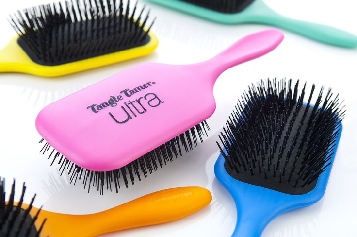 NEW Denman Tangle Tamer Ultras! The perfect brush to detangle long thick hair! Available in 5 bright colours on the Denman online store: http://www.denmanbrush.com/acatalog/Tangle-Tamer-Ultra.html