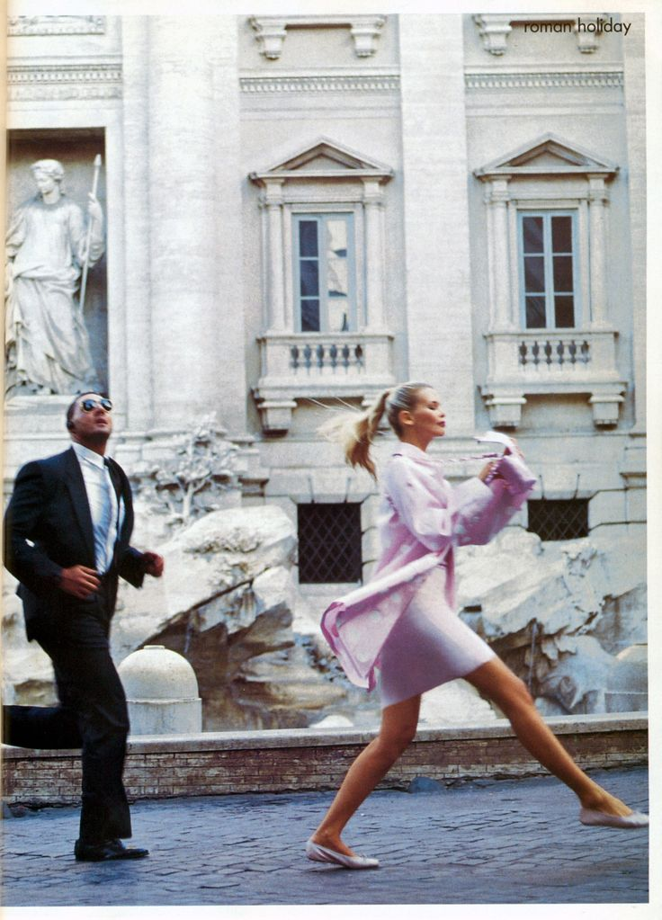 Claudia Schiffer | Photography by Arthur Elgort | For Vogue Magazine US | December 1994