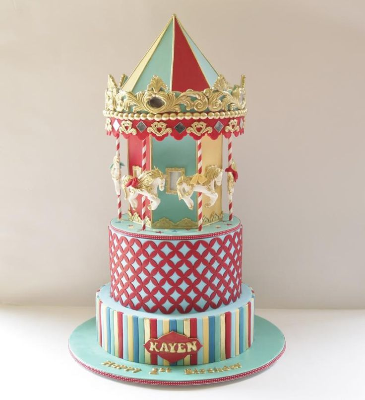 carousel cake. - Cake by Cakes for mates