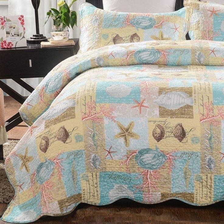 Beach Theme Blanket: 1466 Best Coastal Bedding Images On Pinterest