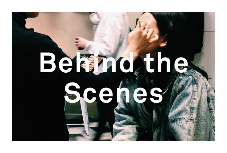Behind the scenes / LNDR