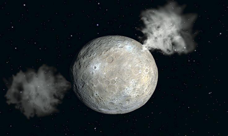 Ceres, el planeta enano localizado en el Cinturón de Asteroides, experimenta una inclinación de su eje. Entender cuánto alcanza y cómo afecta a su superficie podría ser clave para comprender mejor su pasado y cómo obtiene el hielo que hay algunas regiones de su superficie... #astronomia #ciencia