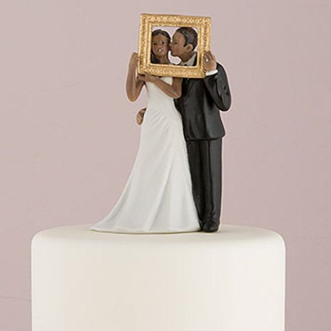 figurine de mariage noire photobooth httpwwwinstemporelcom - Figurine Mariage Humoristique Pas Cher