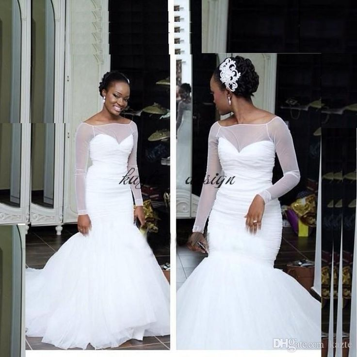 South Afraic Nigerian Wedding Dresses Mermaid Beading Organza Court Train Tiered Skirts Plus Size Organza Bridal Gowns Cheap Custom Mermaid Wedding Dress Long Sleeve Wedding Dresses Lace Wedding Dress Online with $158.86/Piece on Kazte's Store | DHgate.com
