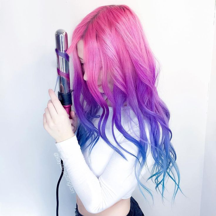 Best 25+ Blue and pink hair ideas on Pinterest   Blue ...