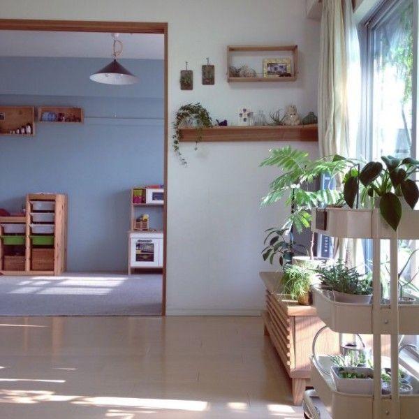 和室インテリア29選☆DIY&リフォームでこんなにおしゃれに! | folk ⑤和室を改造して子ども部屋に