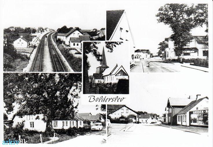 arkiv.dk | Bolderslev, postkort 1940