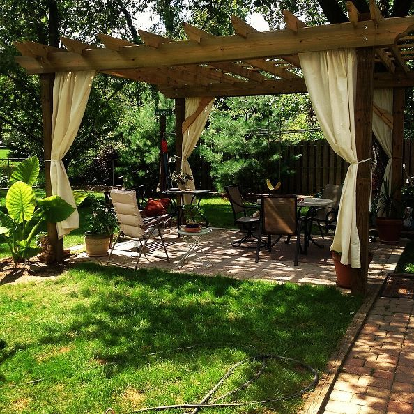 creating a personal outdoor paradise space, decks, outdoor living, patio, Creating An Outdoor Room We were blown away when we saw what Robin and her husband created with the pergola