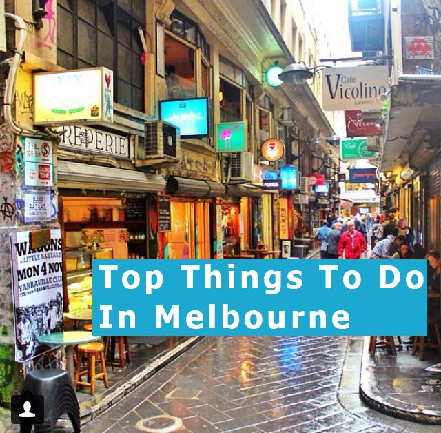 Top Things To Do In #Melbourne , #Australia - The land down under.