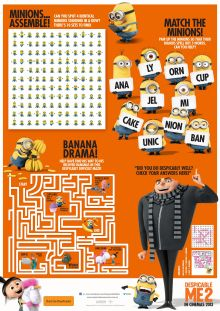 45 Best Despicable Me Printables Images On Pinterest