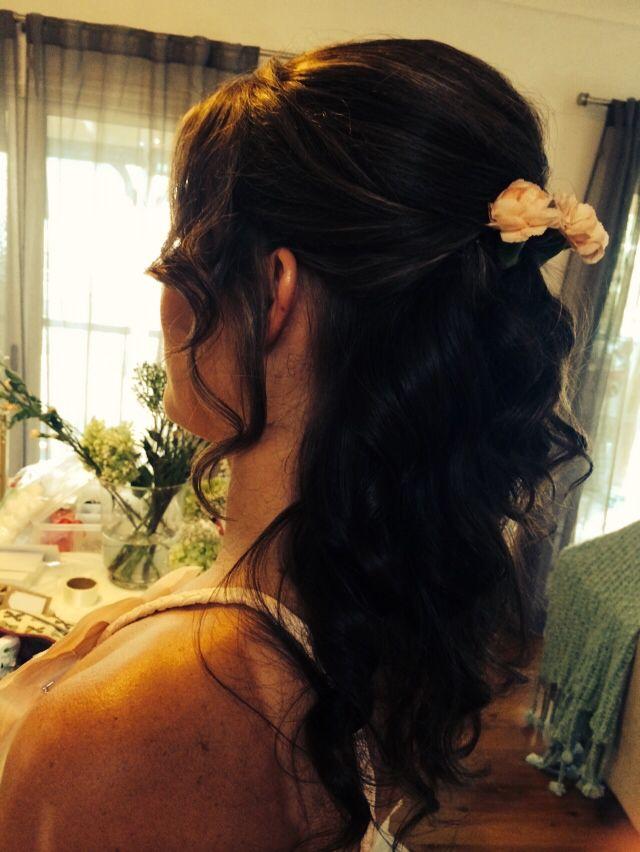 Bridesmaid #1 side shot