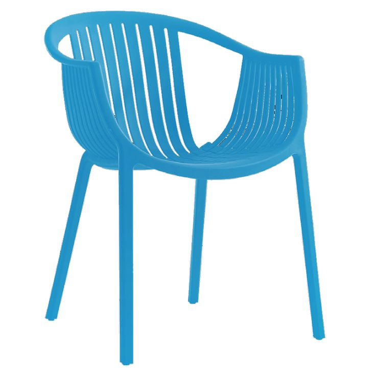 Colombo garden armchair blue PP