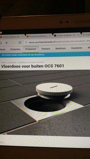 Vloer contactdoos buiten OCS