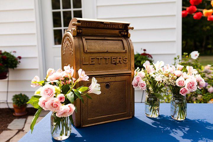 11 Unique Wedding Card Box Ideas Unique Wedding Cards Vintage Wedding Cards Wedding Mailbox