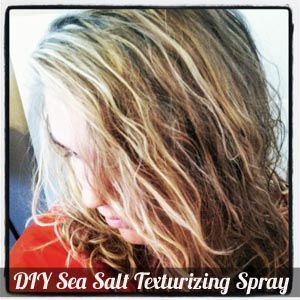 DIY Sea salt spray for beachy waves. I use this recipe and it really works. Try