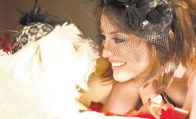 Minissha Lamba lost her Tibetan Terrier Misty in 2012. Pic/mid-day archives | #indipin