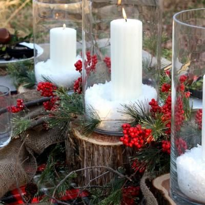 1000 Images About Winter Tablescapes On Pinterest Green