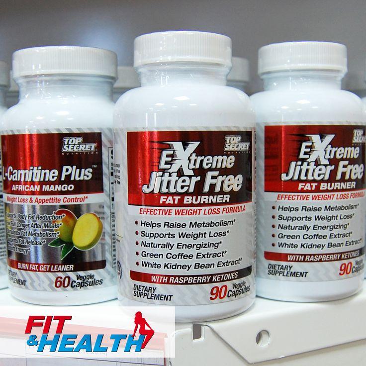 Top Secret Nutrition раскрывает секреты идеального тела! Жиросжигатель EXTREME JITTER FREE FAT BURNER