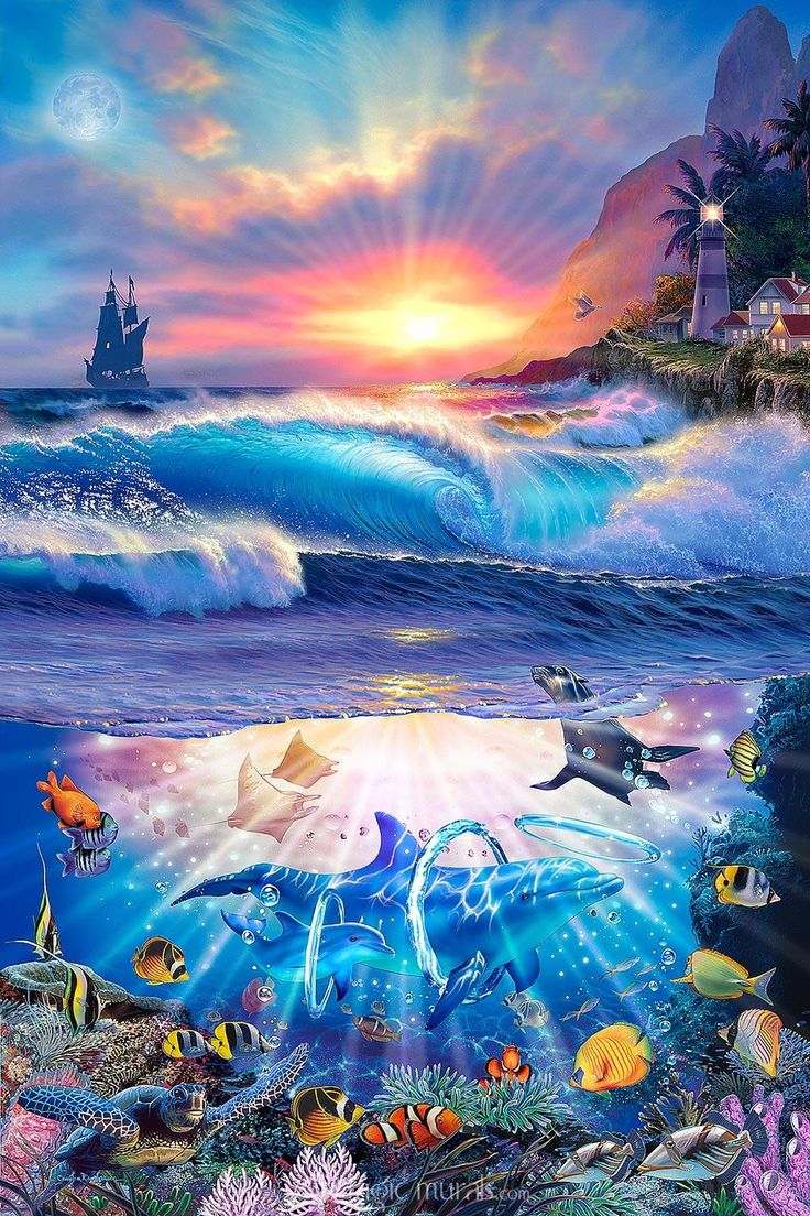 336 best christian lassen pics images on pinterest dolphins magic murals is your source for the largest collection of self stick and wallpaper wall murals by acclaimed artist christian riese lassen