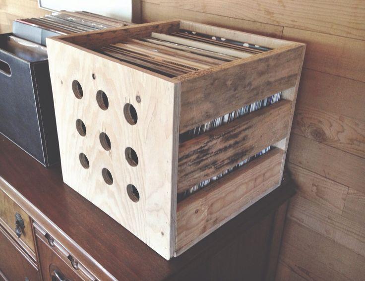 17 best images about lp storage on pinterest vinyls record shelf and vinyl record storage. Black Bedroom Furniture Sets. Home Design Ideas