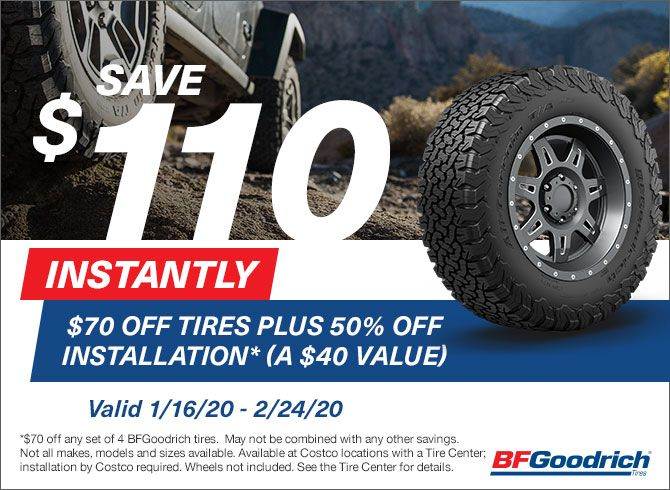 Tires Shop For Car Suv Truck Tires Costco In 2020 Truck