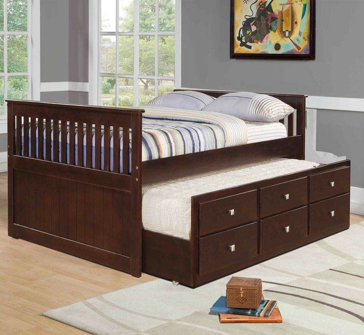 Best 25 Full Size Trundle Bed Ideas On Pinterest: 25+ Best Ideas About Captains Bed On Pinterest