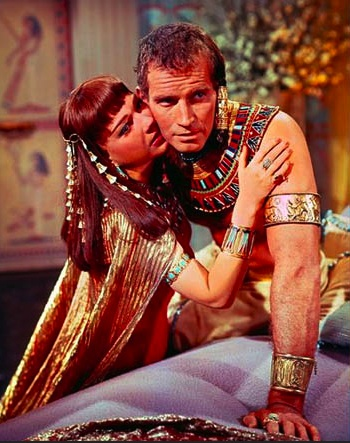 Charlton Heston and Anne Baxter, 'The Ten Commandments' (1956)