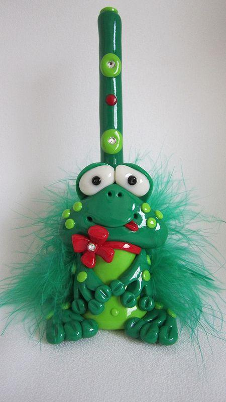 frog pen holder | por Starky Art