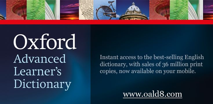 Oxford advance learners dictionary 8th