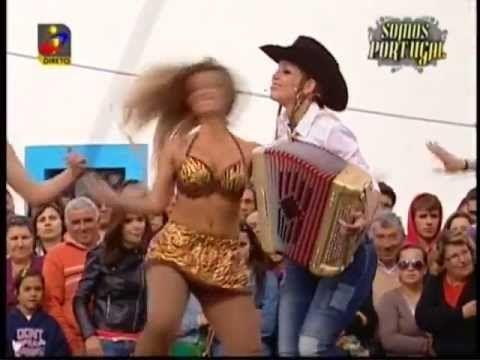 Quina Barreiros - A Dança do Mangolé (TVI@19 Mai 2013)