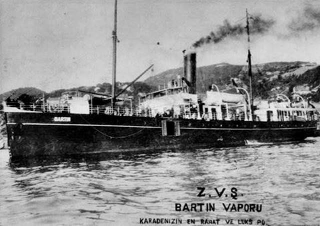 Bartın Gemisi, 1930 lu yıllarda Karadeniz-İstanbul hattında çalışan zamanın modern gemilerinden biridir. Gemide Kaloriferli, banyolu birinci, ikinci sınıf yolcu kamaraları ve yolcu salonu vardı. Gemi 1931 yılında büyük hissesi Bankoğulları na ait olmak üzere Bankoğulları ve ortakları tarafından satın alınmıştır.